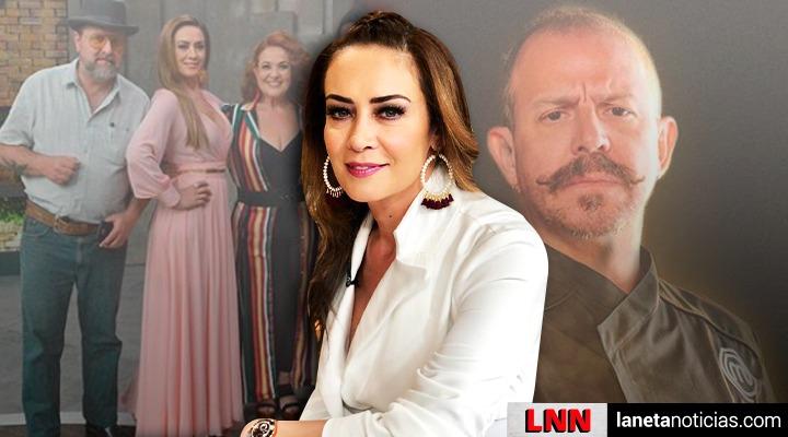Anette Michel habla sobre supuesta salida de Benito Molina de MasterChef. Noticias en tiempo real