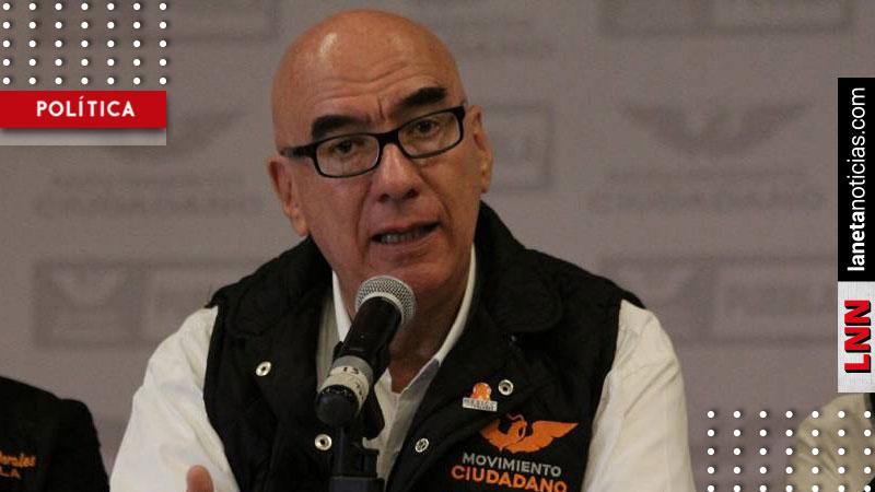 Dante Delgado señala a Morena por piratear iniciativas de MC. Noticias en tiempo real