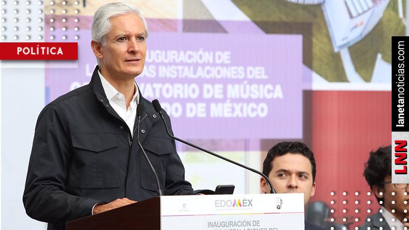 Alfredo del Mazo inaugura Conservatorio de Música del Edomex. Noticias en tiempo real