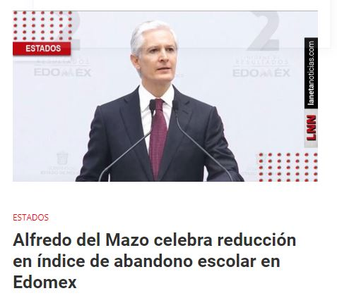 Segundo Informe de Gobierno: Alfredo del Mazo reconoce apoyo de AMLO en Edomex