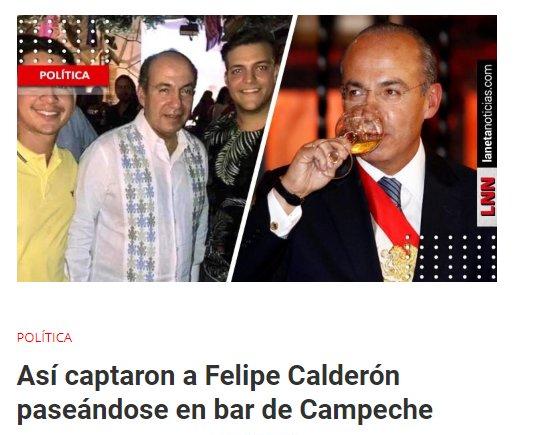 'No es un borracho', dice Federico Arreola sobre supuesto alcoholismo de Calderón