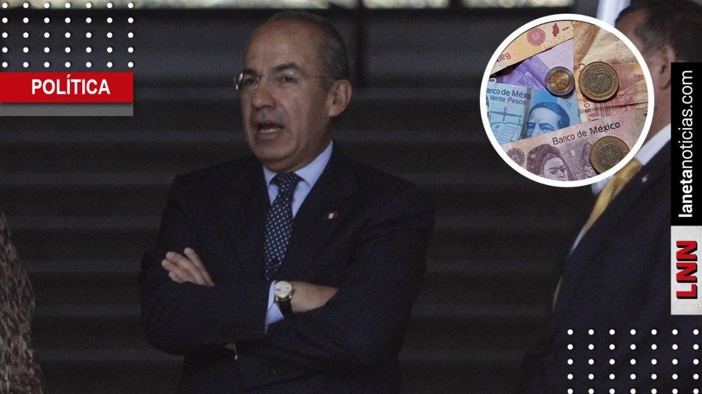 Calderón culpa a Congreso por condonación de impuestos en su sexenio