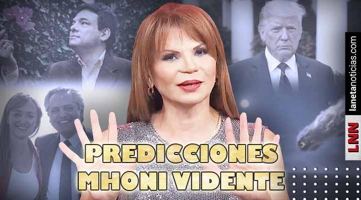 Muerte de cantante mexicano, Trump y más: las predicciones de Mhoni Vidente