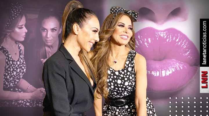 Dan detalles del beso entre Gloria Trevi y Mónica Naranjo para video musical