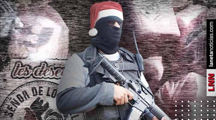 CJNG se graba repartiendo despensas navideñas a nombre de El Mencho