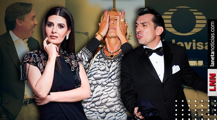 Jorge Salinas, Laura Bozzo y más: los famosos despedidos de Televisa en 2019