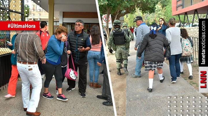 Se registra tiroteo en escuela de Torreón; reportan al menos 3 muertos