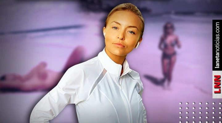 Sebastián Rulli llama diosa a Angelique Boyer tras verla sin ropa en la playa