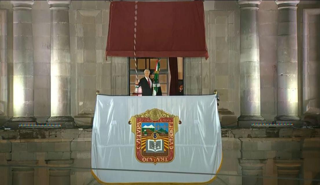 Alfredo del Mazo da el Grito de Independencia en Edomex
