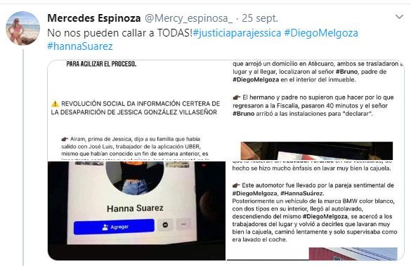 Giran orden de aprehensión contra Diego Urik, presunto asesino de Jessica