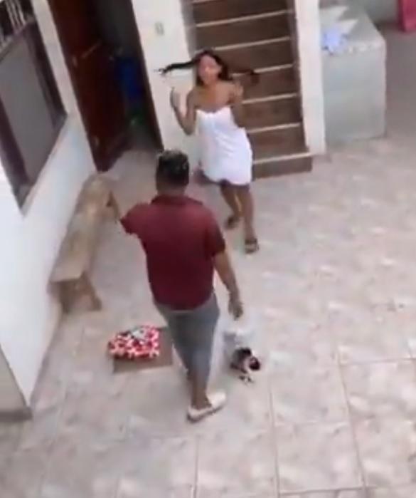 Video de novia infiel sorprendida con amante causa sensación en redes