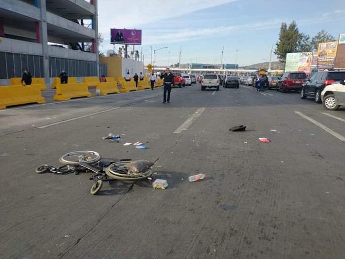 Fallece mujer atropellada por el hombre que murió tras chocar en Garita de San Ysidro