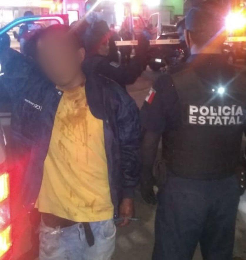 Detienen a indigentes que mataron a palazos a transeúnte en Querétaro