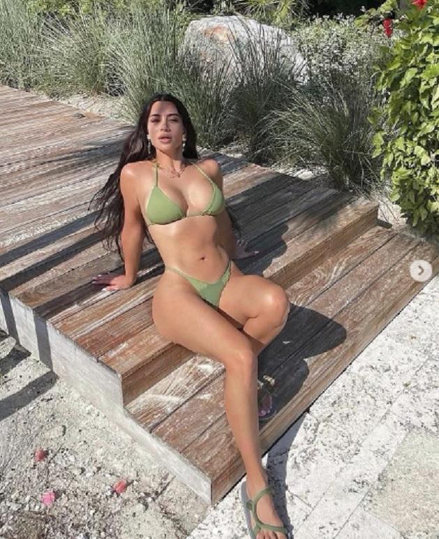 La foto de Kim Kardashian que calienta internet