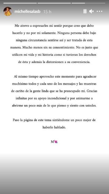 'Irrespetuosa y desafortunada': Michelle Salas se va contra serie de Luis Miguel